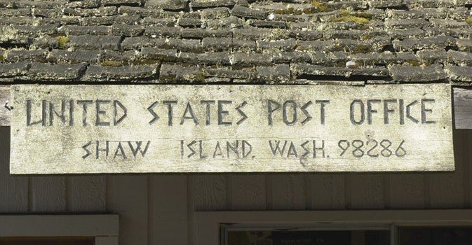 The Shaw Island Post Office
