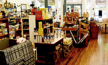 Shaw General Store interior